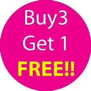 That's Right! Plus 15% off! Buy 3 Get 1 Free!!